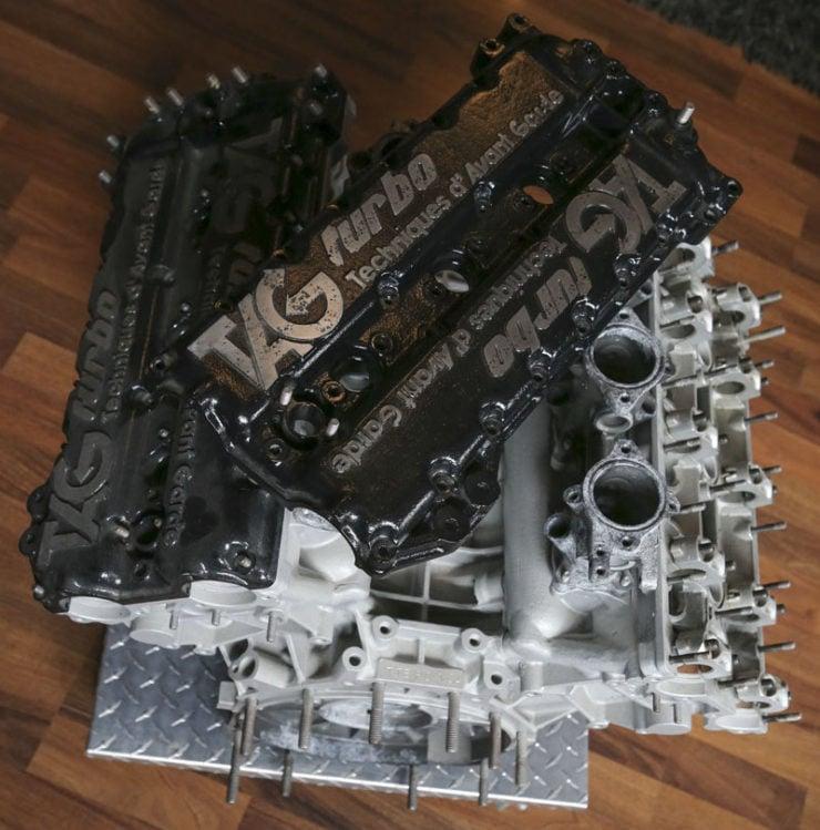 Porsche-TAG TTE P01 Formula 1 Engine 2