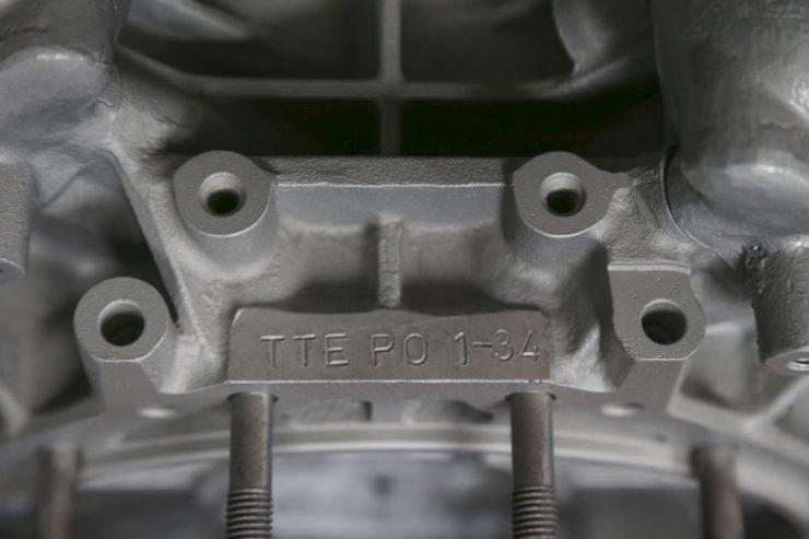 Porsche-TAG TTE P01 Formula 1 Engine 3