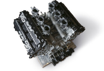 Porsche-TAG TTE P01 Formula 1 Engine
