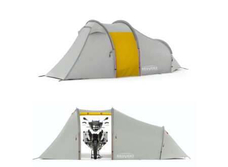 Redverz Atacama Expedition Motorcycle Tent