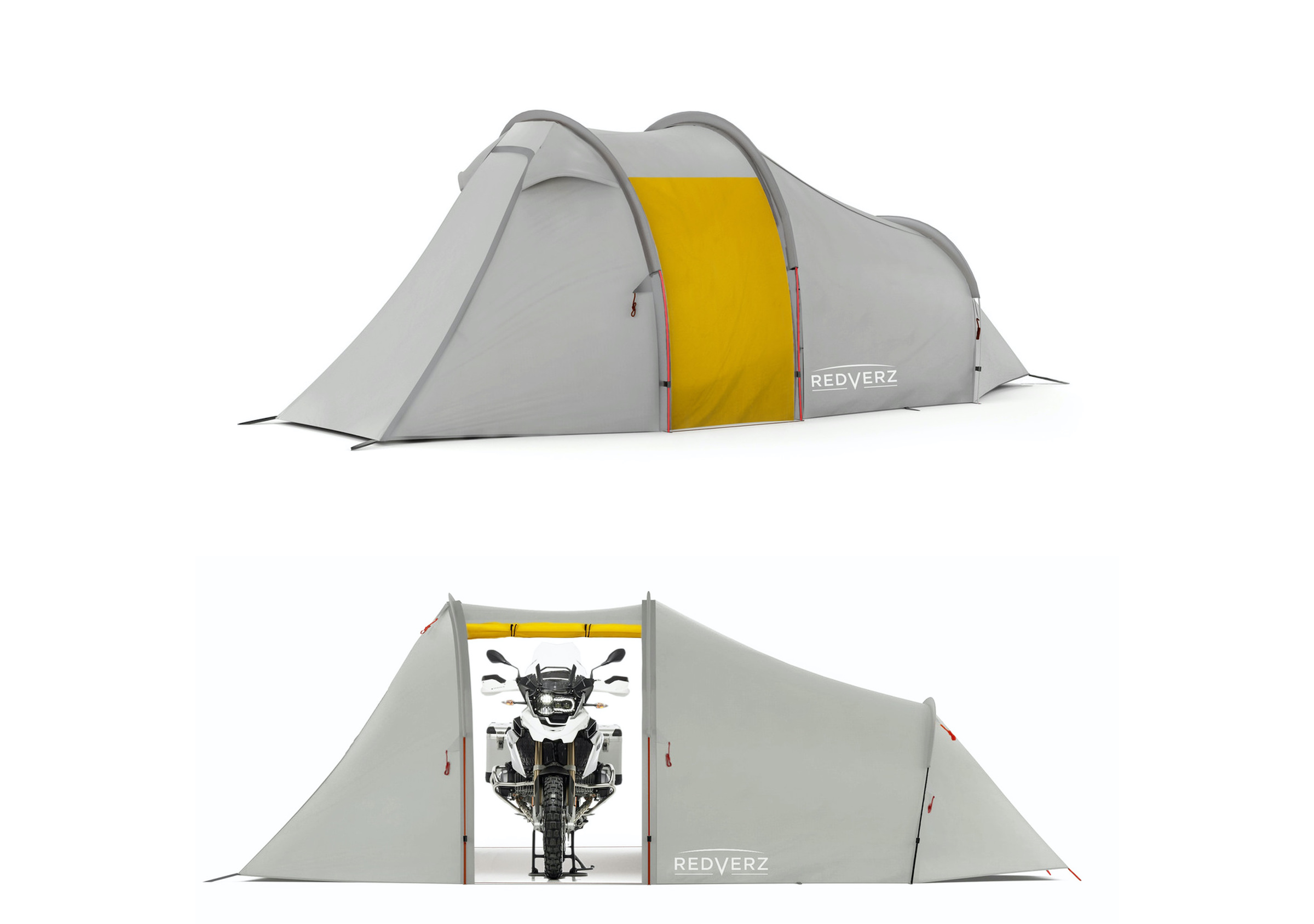 Redverz Atacama Expedition Motorcycle Tent