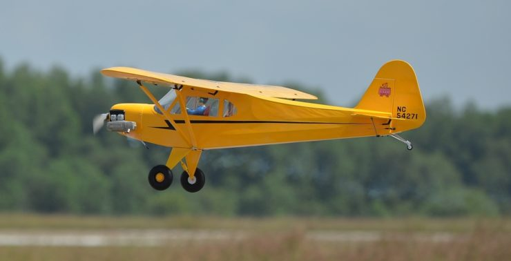 Remote Control 1-4 Scale Piper J-3 Cub 2