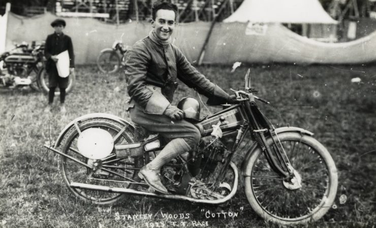 Stanley Woods Cotton Motorcycle