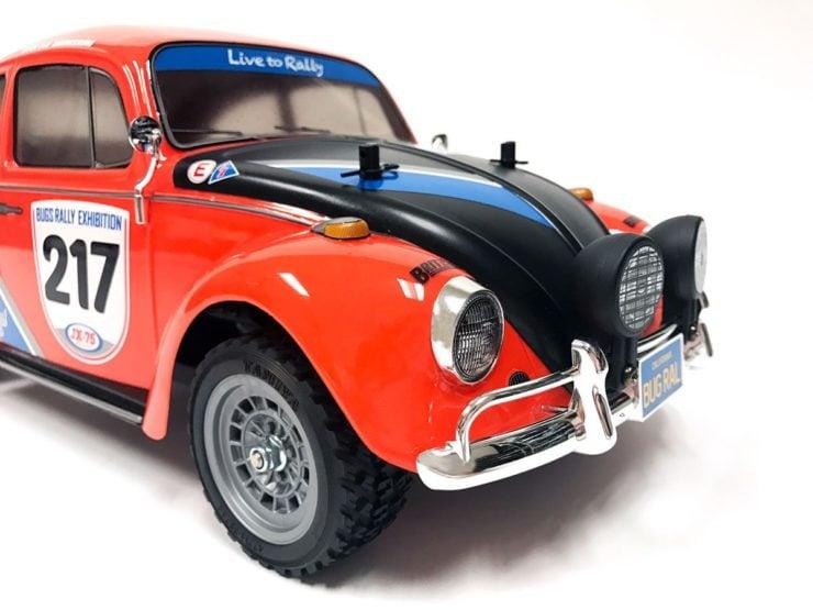 Tamiya R/C Volkswagen Beetle Rally Front