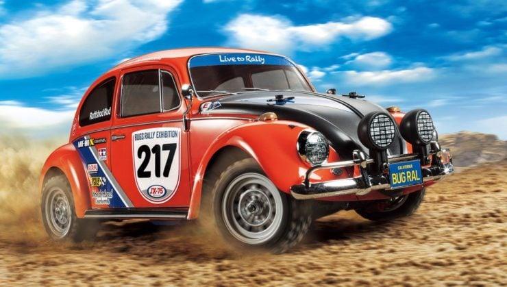 Tamiya R/C Volkswagen Beetle Rally Racing