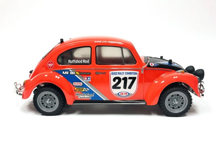 Tamiya R/C Volkswagen Beetle Rally Side