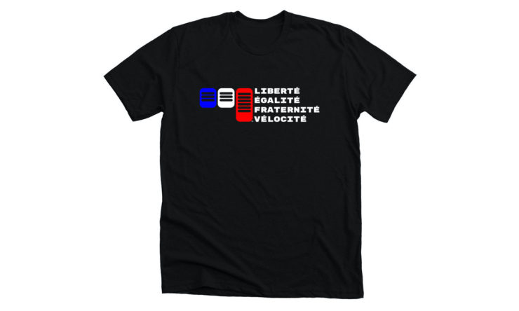 Three Pedals + Liberté T-Shirt Black