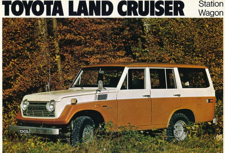Toyota Land Cruiser FJ50 Model