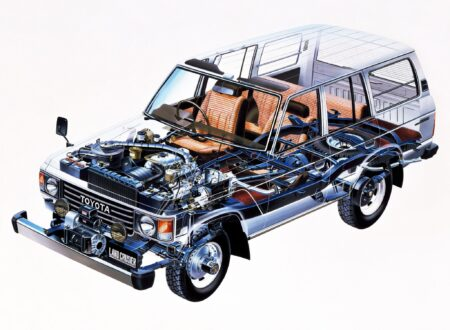 Toyota Land Cruiser J60 Cutaway