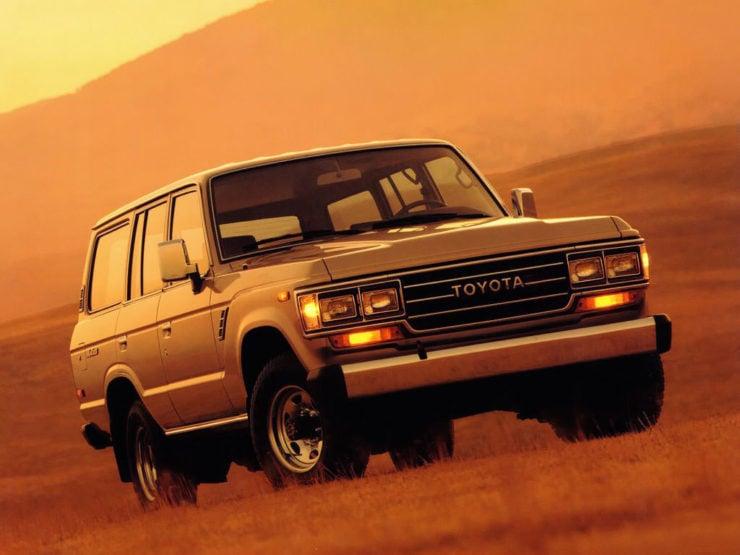 Toyota Land Cruiser J60 Front