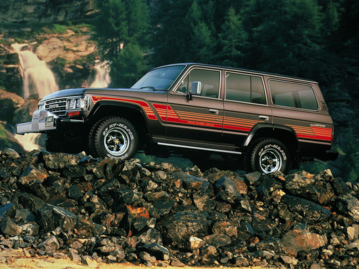 Toyota Land Cruiser J60 Off Road