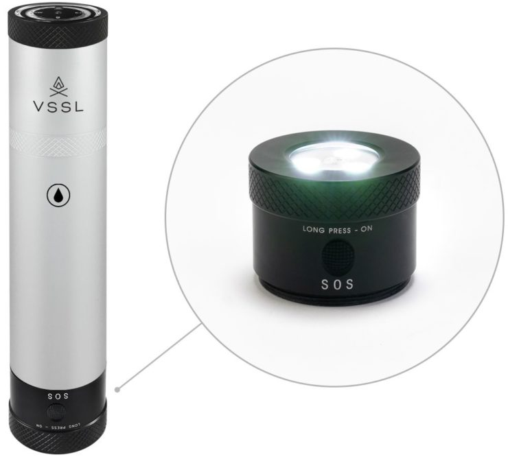 VSSL Flask Silver