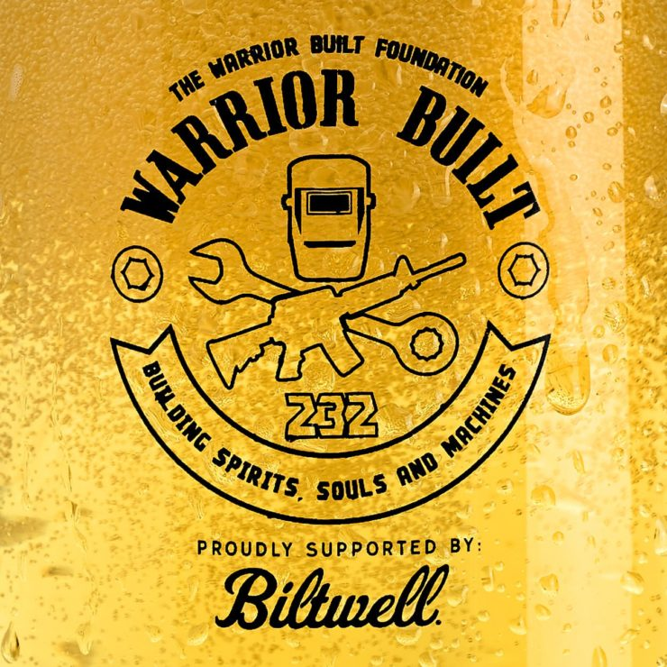 Warrior Built 2020 Pint Glass 2
