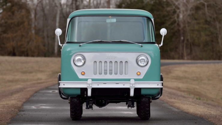 Willys FC-150 Grille