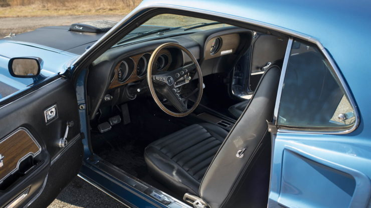 1969 Ford Mustang Mach 1 3