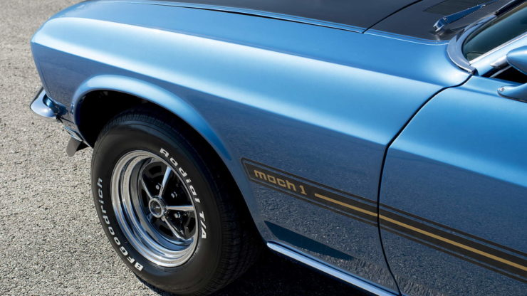 1969 Ford Mustang Mach 1 7