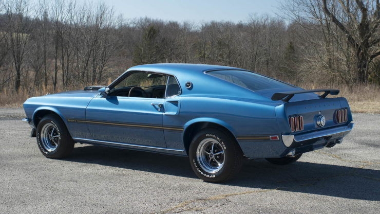 1969 Ford Mustang Mach 1 9