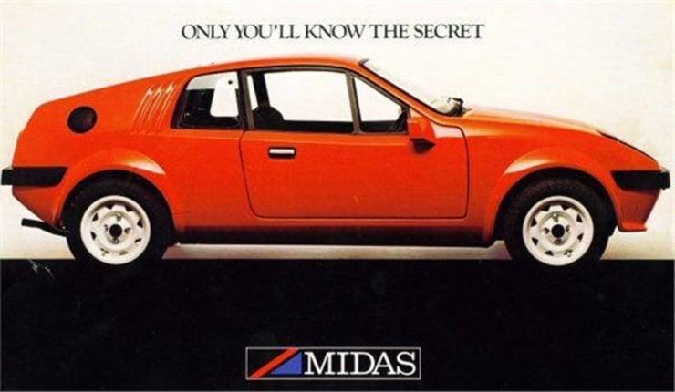 Mini Midas kit sports car