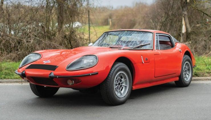 Marcos GT sports car