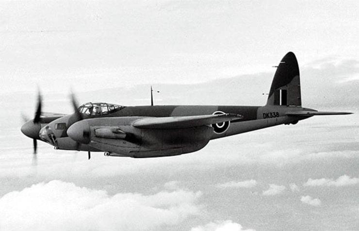 de Havilland Mosquito Frank Costin