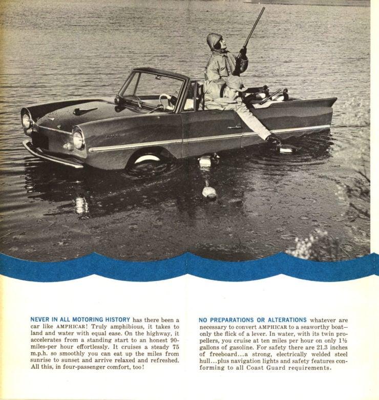 Amphicar Brochure 2