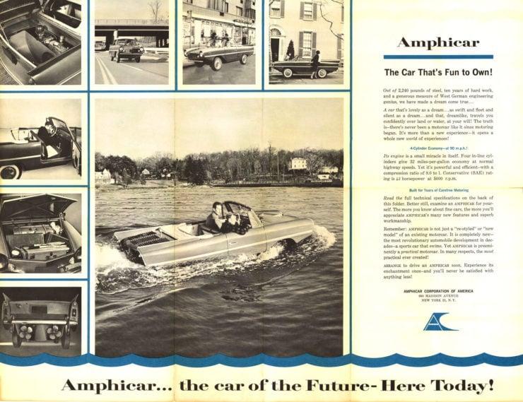 Amphicar Brochure 3