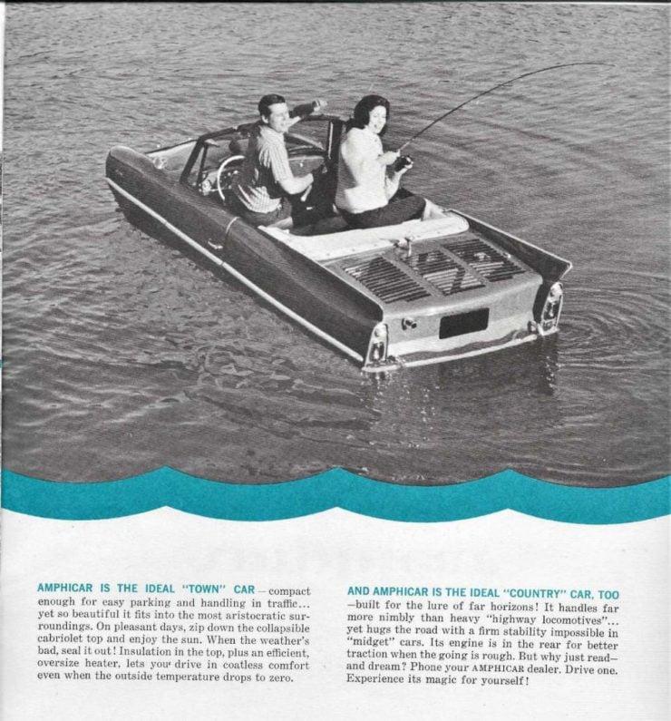 Amphicar Brochure 4