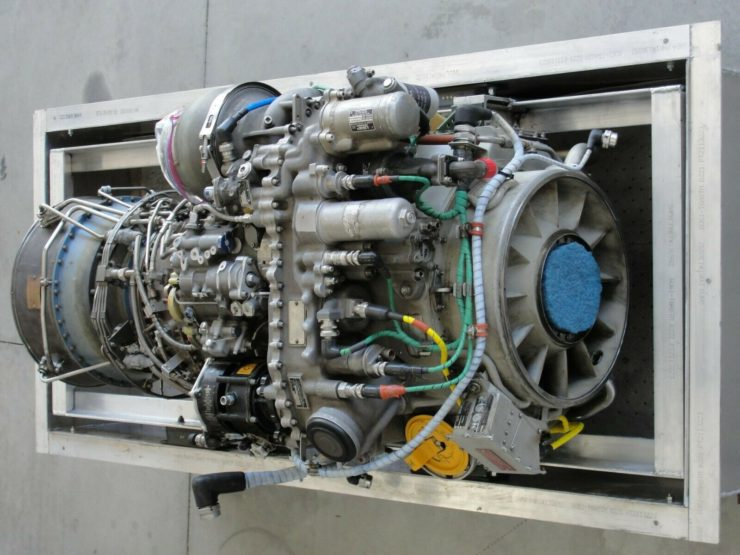 Blackhawk Helicopter Turbine Engine 1