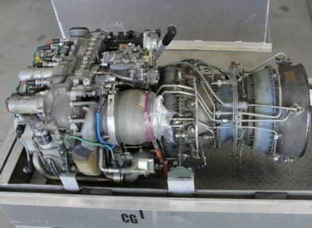 Blackhawk Helicopter Turbine Engine
