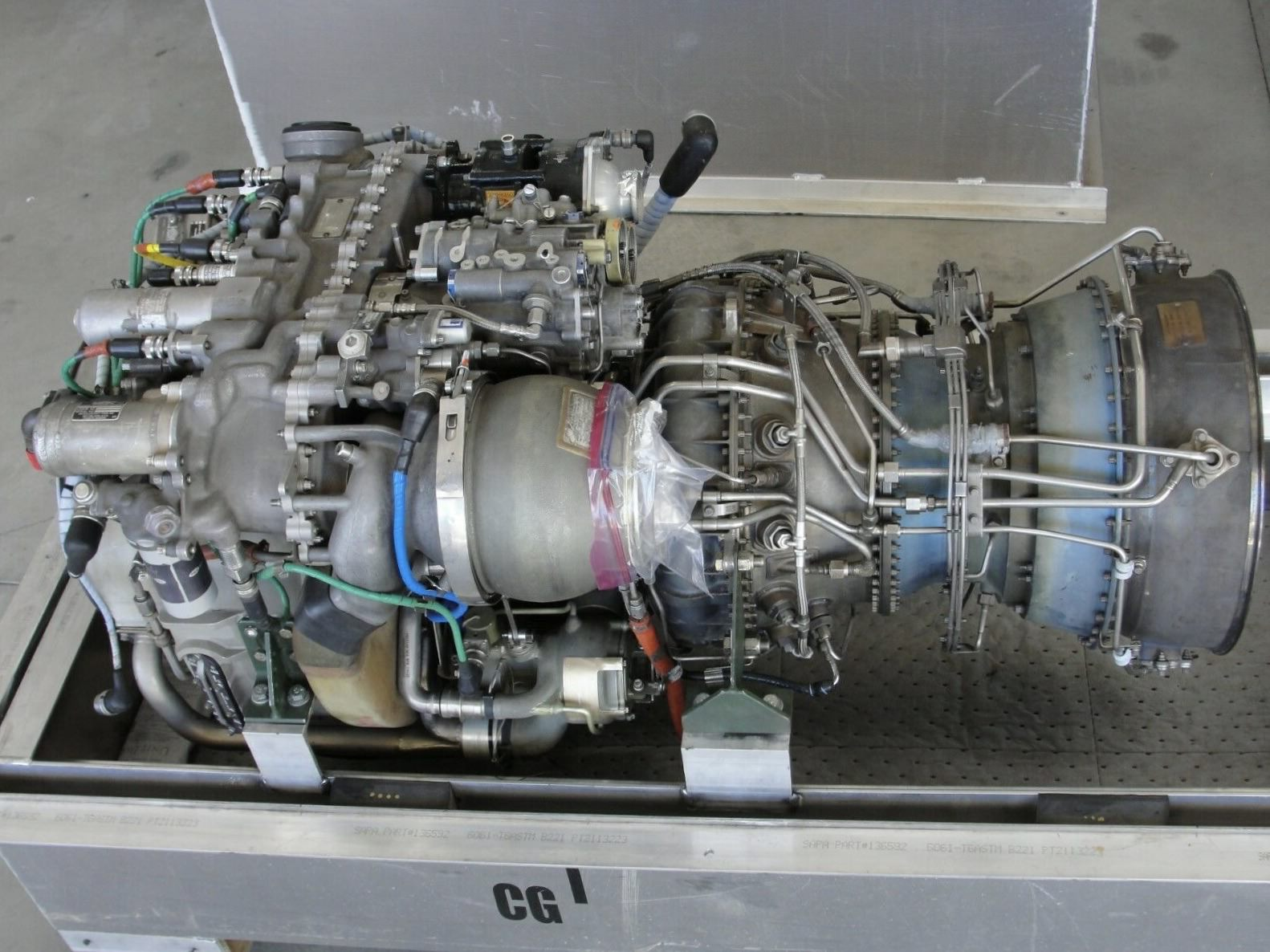 Blackhawk Helicopter Turbine Engine