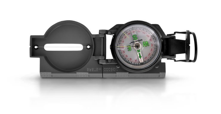 Brunton Lensatic Compass Open