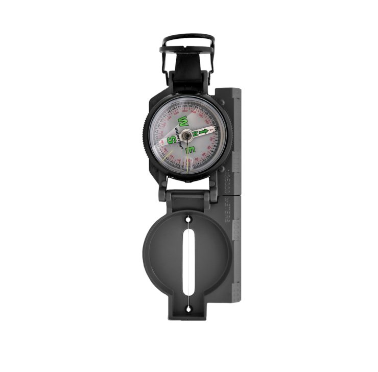 Brunton Lensatic Compass Upright