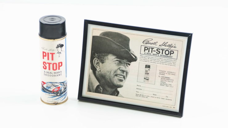 Carroll Shelby's Pit Stop Deodorant