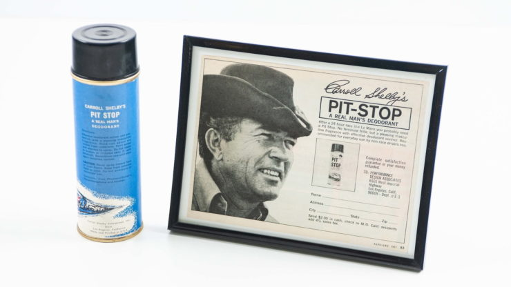 Carroll Shelby's Pit Stop Deodorant Back