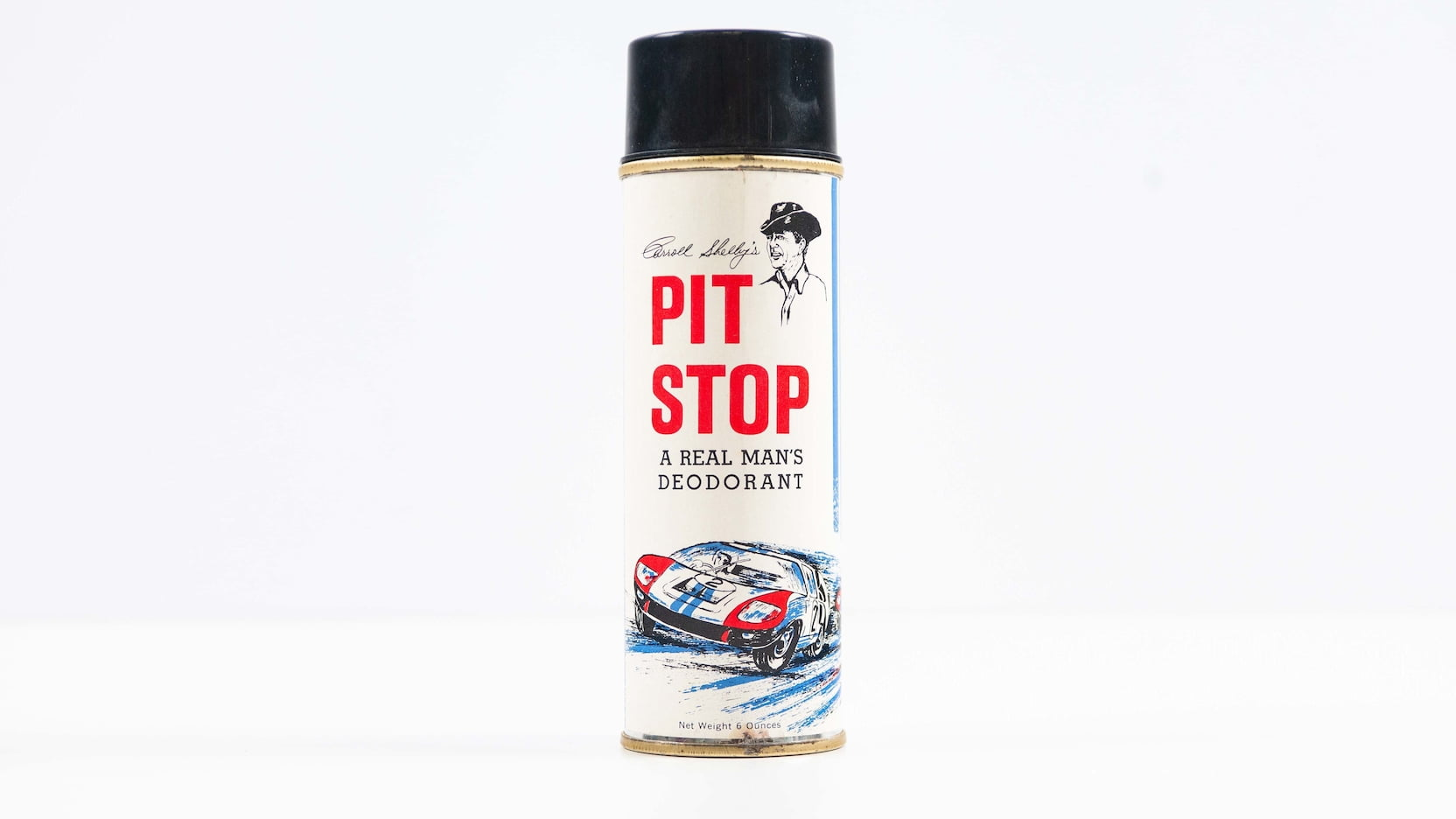 Carroll Shelby's Pit Stop Deodorant Front