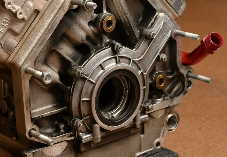 Ferrari 360 Challenge Stradale V8 Engine 1