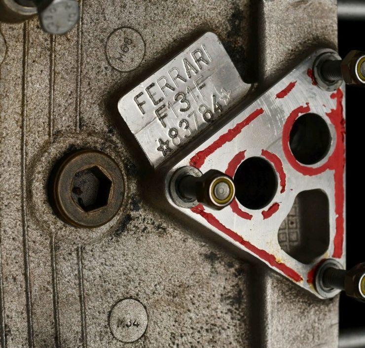 Ferrari 360 Challenge Stradale V8 Engine 2