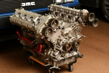Ferrari 360 Challenge Stradale V8 Engine 4