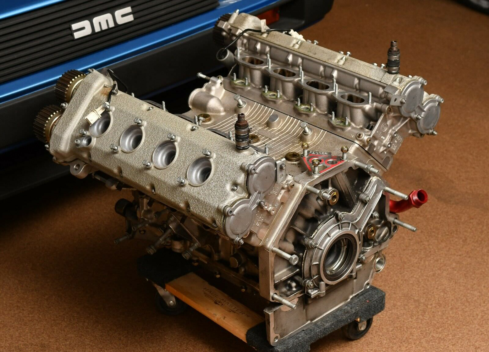 Ferrari Engine Coffee Table For Sale