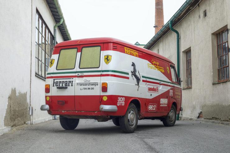 Fiat 238 Van Back
