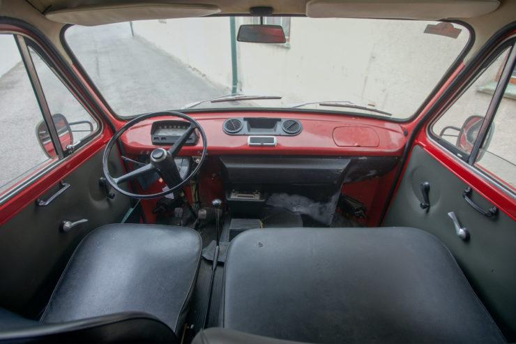Fiat 238 Van Dashboard