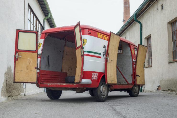 Fiat 238 Van Doors