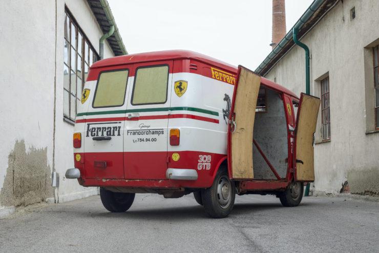Fiat 238 Van Rear