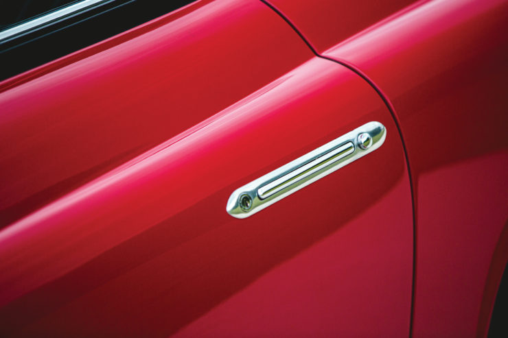 Fiat 8V by Vignale Door handles