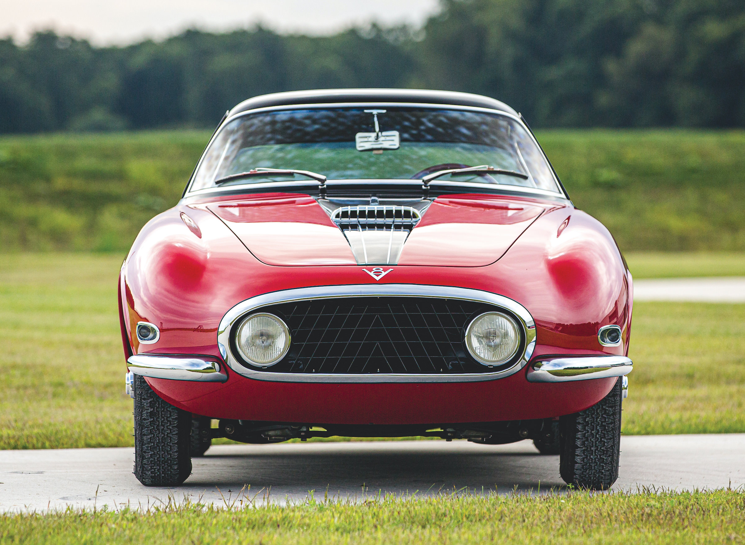 Fiat 8V by Vignale Front
