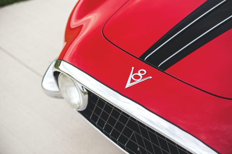 Fiat 8V by Vignale Grille
