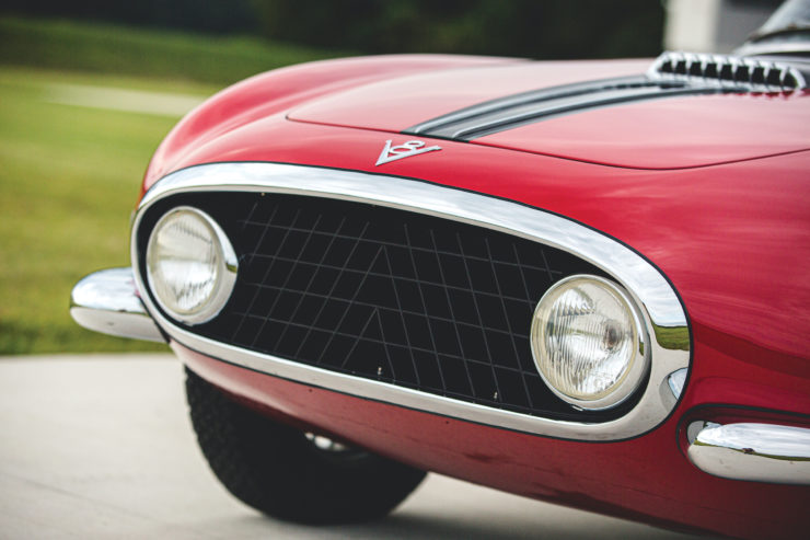Fiat 8V by Vignale Headlights