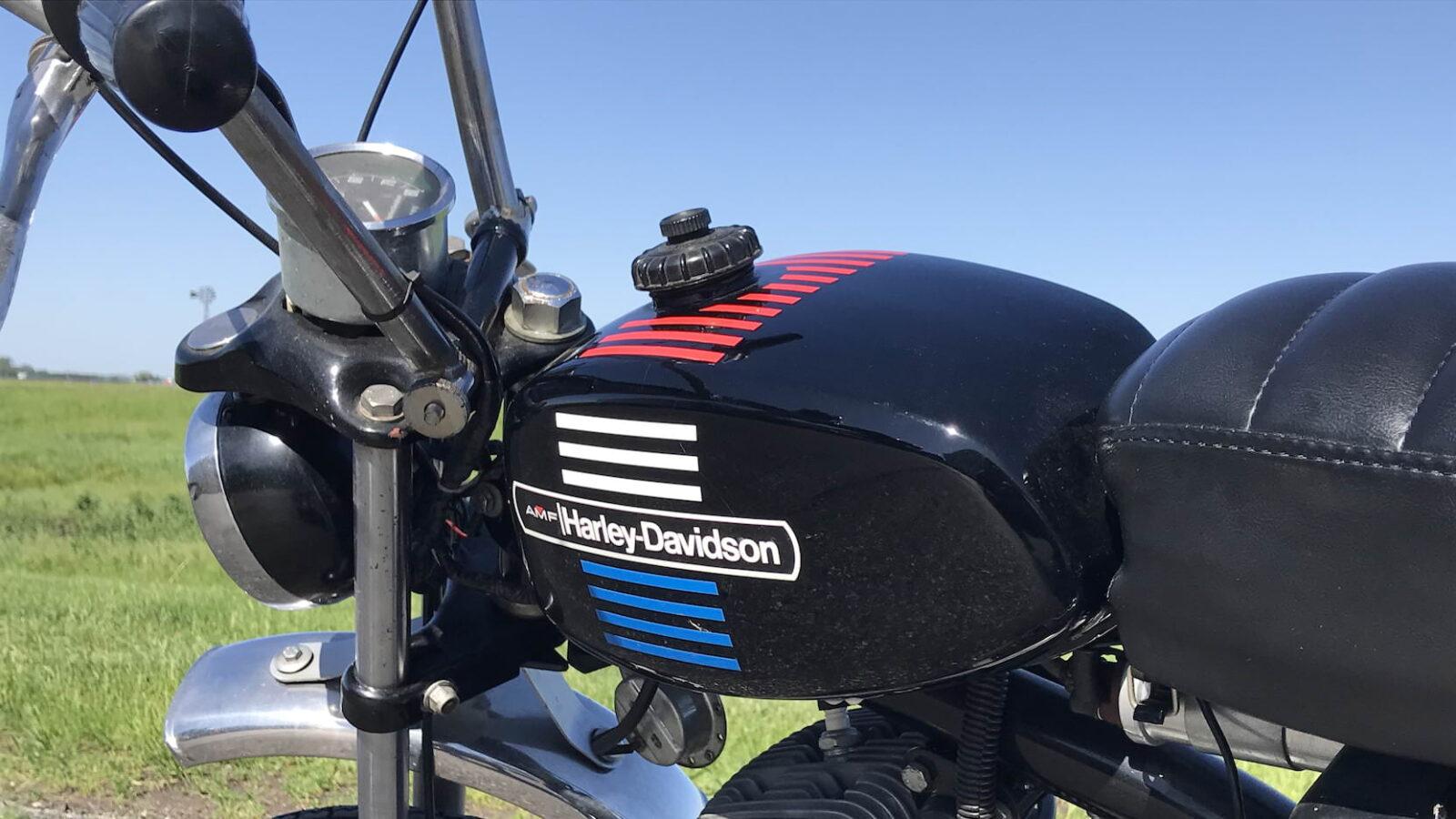 Harley-Davidson X-90 - The Shortster 8
