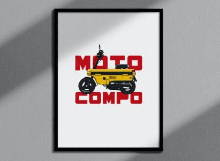 Honda Moto Compo Poster 1