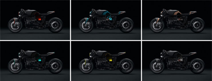 Hookie R nineT Cobra Collage